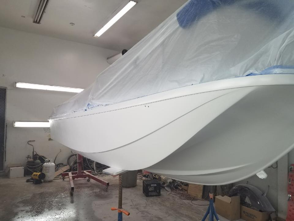 fiberglass boat repair shop nh - Precision Marine