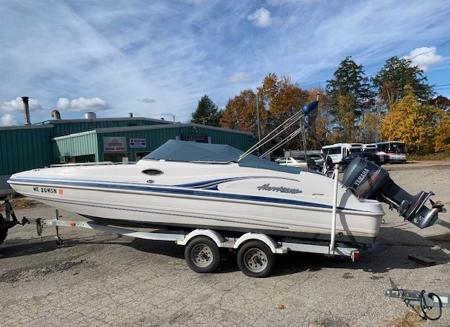 Used Hurricane Sundeck Boat For Sale NH full