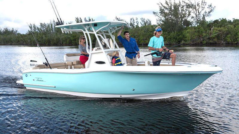 New Pioneer Islander 222 Boat For Sale full